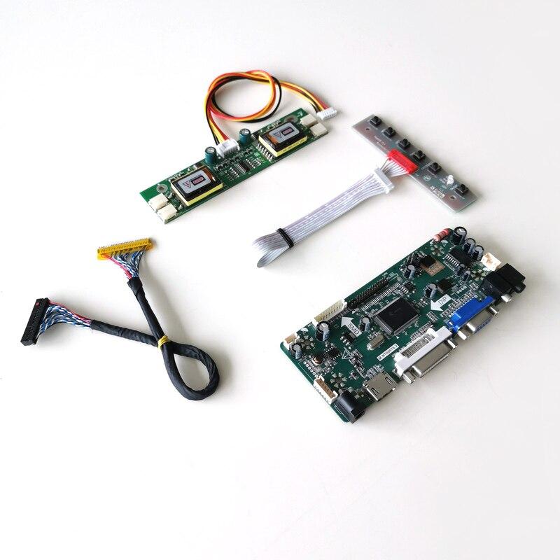 Панель ЖК-монитора для M170EG01 VC VD, DVI VGA M.NT68676, контроллер экрана, плата привода CCFL LVDS 30Pin 17