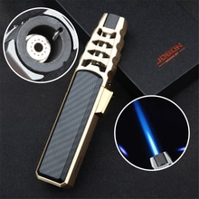 Windproof Gas Cigar Lighter Kitchen Baking Supply Outdoor Strong Fire Welding Torch Smoking Accessor