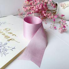 4mm-36mm 100% pure silk embroidery ribbon wedding ribbon thin taffeta high quality silk ribbon Handcraft