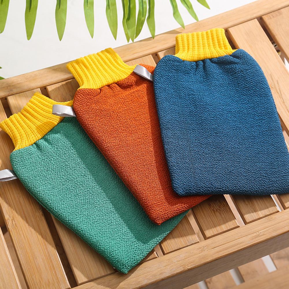 Scrubbing Bath Towel Glove Exfoliating Bathroom Shower Home Cleaning Supplies enlarge