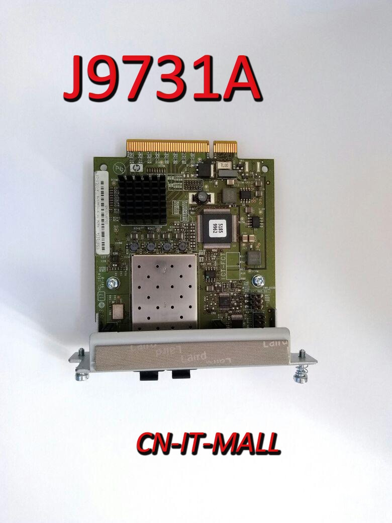 Тянут J9731A 2-Порты и разъёмы 10гБ сменный модуль небольшого размера + избирательное управление доступом к сетевой коммутатор модуль расширения