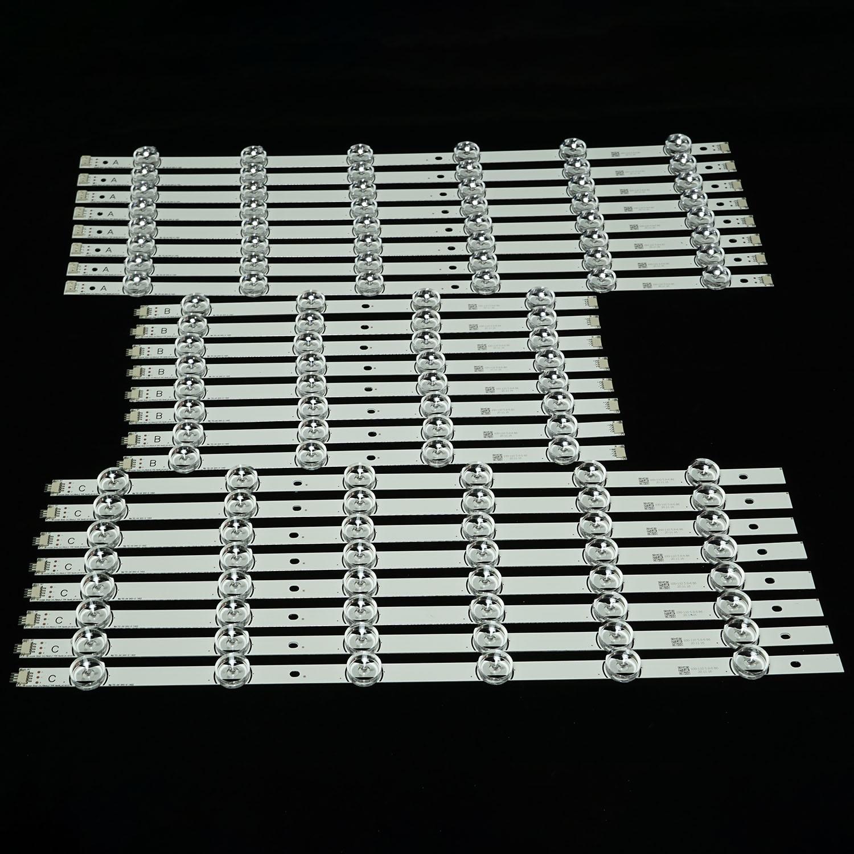 LED الخلفية شريط مصابيح ل LG drt 3.0 70