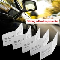 5pcs 2ml car foam tape adhesion promoter swelling binder car wrapping application tool quick adhesive sticker car accessories