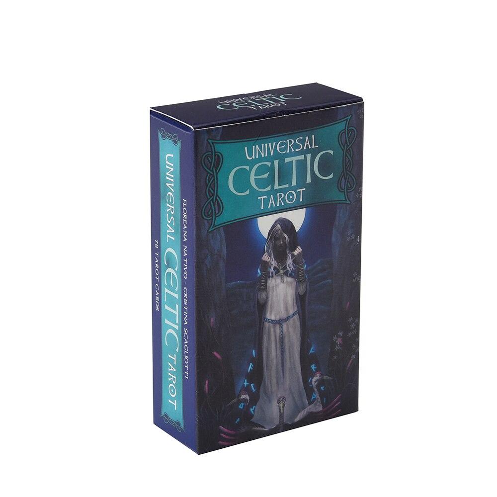 Cartes de Tarot universel pour Oracle 78 pièces, carte de Tarot de guidage anglais complet de Divination, destin pour fête familiale sur le pont