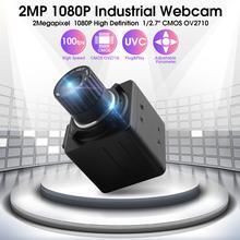 Industriel 1080P hd 30fps /60fps/120fps haute vitesse Cmos ov 2710 4mm objectif de mise au point manuelle mini caméra webcam USB pour tablette android