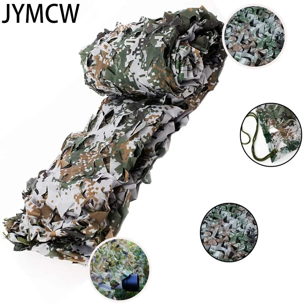 AliExpress - Military camouflage net, 210D Oxford cloth hunting concealed net, car cover, camping sun shelter, courtyard awning