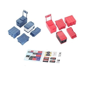 Миниатюрный ящик для хранения 1/10 TRX4 SCX10, детали для альпинизма