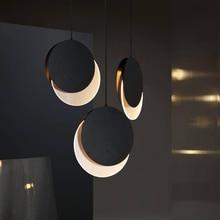 Post-modern Art Restaurant Pendant Lamp Nordic Simple Dining Table Bedside Bed Three Round Bar Cosmos Pendant Lights luminaire