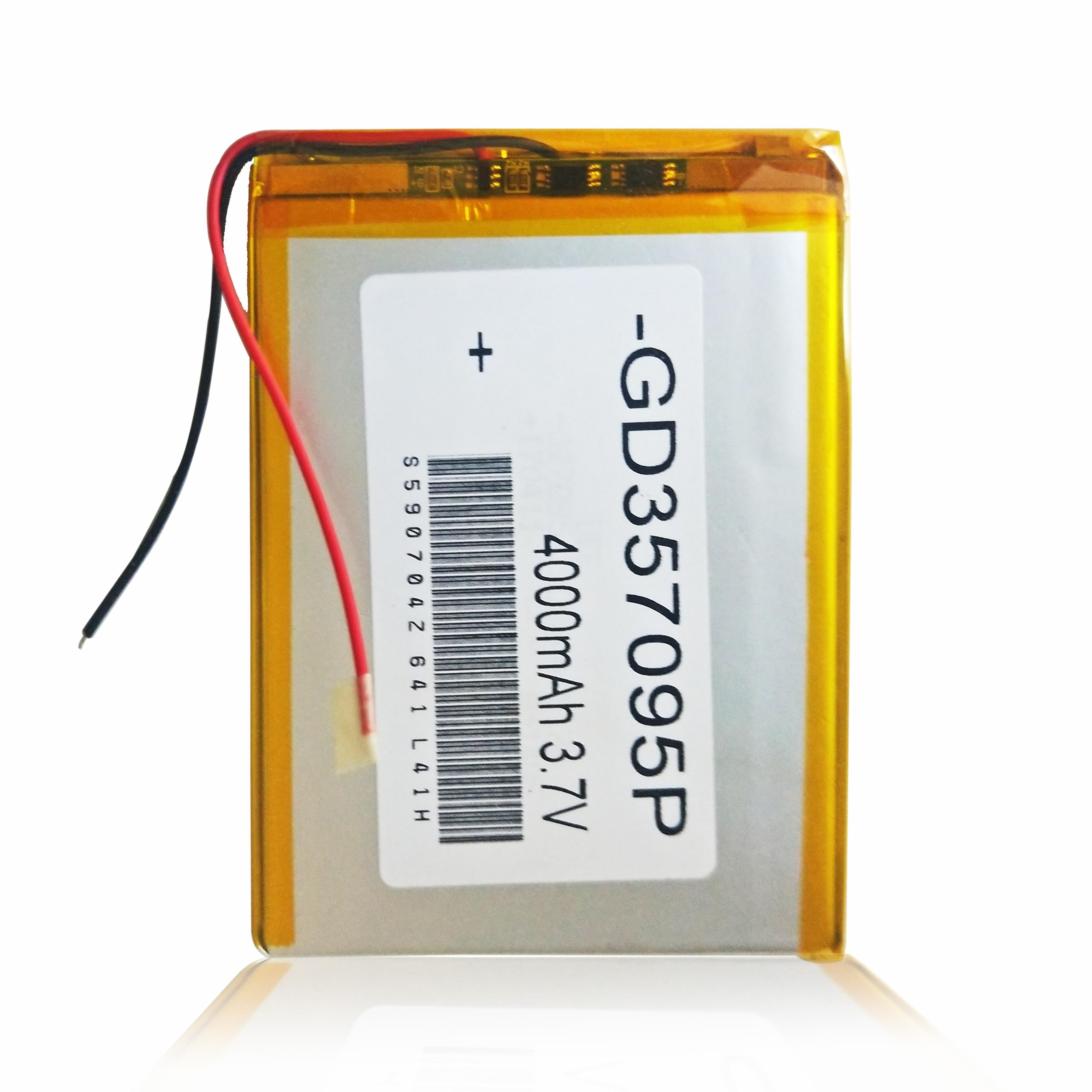 357090 3,7 V 4000mAh литий-полимерный литий-ионный аккумулятор для Digma Plane 7557 4G PS7171PL 7700B 4G PS7009ML S7.0 3g PS7005MG