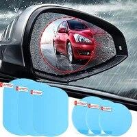 2pcs car rearview mirror protective film anti fog window clear rainproof rear view mirror protective car window film accessories