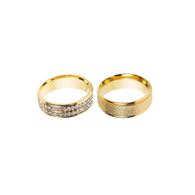 Nuevo diseñador de dos estilos de moda de calidad de los hombres anillo de lazo de boda de Metal dorado para hombres anillo de corbata DiBanGu Dropshipping JZ02-03