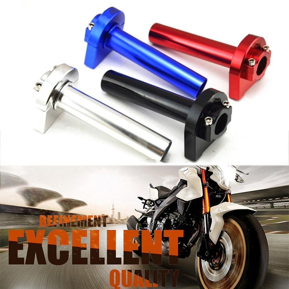 Aluminum Universal CNC Revolving Handlebar Grips for Motorcycle Accelerator