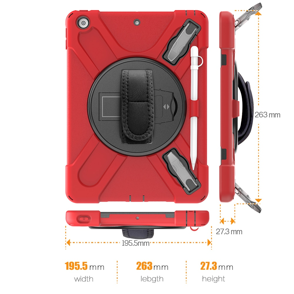 Heavy A2270 Cover A2197 Shokproof A2200 A2428 10.2 for A2429 Kids iPad A2198 Armor Case