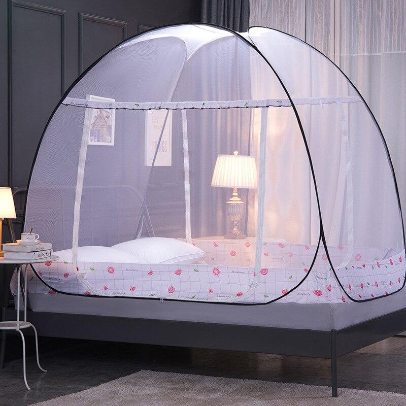 للطي ناموسية المظلة مع قوس خيمة سريرية للكبار الفتيات غرفة الديكور ناموسية البعوض التحكم في التخييم