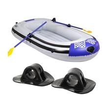 4Pcs Boat Engine Motor Mounts Stand Holder Grommet Fix Hook Bracket Inflatable Boat Dinghy Kayak Canoe Rowing Boats Accessories