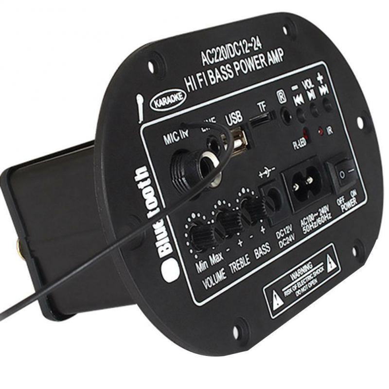 Amplificador de Audio Digital para el hogar, por Bluetooth, estéreo Hifi, Subwoofer,...