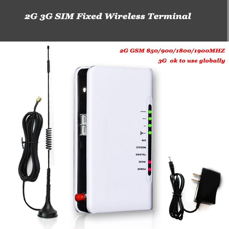 2G GSM 3G 4G Fixed Wireless terminal DTMF For Alarm system Desktop Landline phone Audio cassette Cellular SIM Card Fixed phone