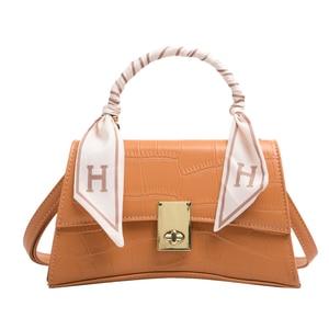 High quality crocodile silk scarf brand women's handbag bags for women purses and handbags designer bag crossbody bag sac femme