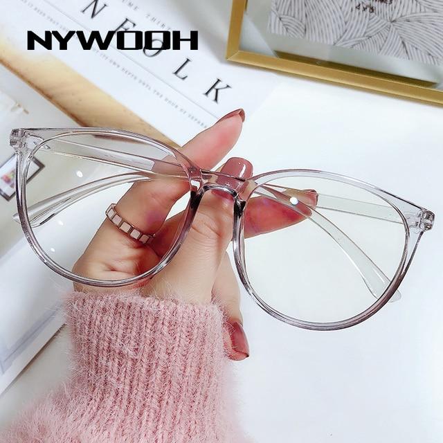 -1.0 1.5 2.0 to 6.0 Black Finished Myopia Glasses Men Women Transparent Eyeglasses Prescription Student Shortsighted Eyewear 6