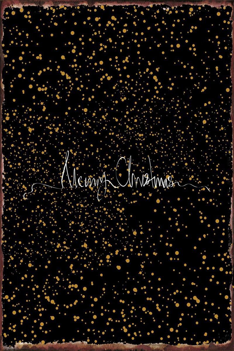 Рождественские жестяные тарелки, Настенный декор, украшение для комнаты, Ретро винтажный металлический знак, жестяной знак, искусство для к...