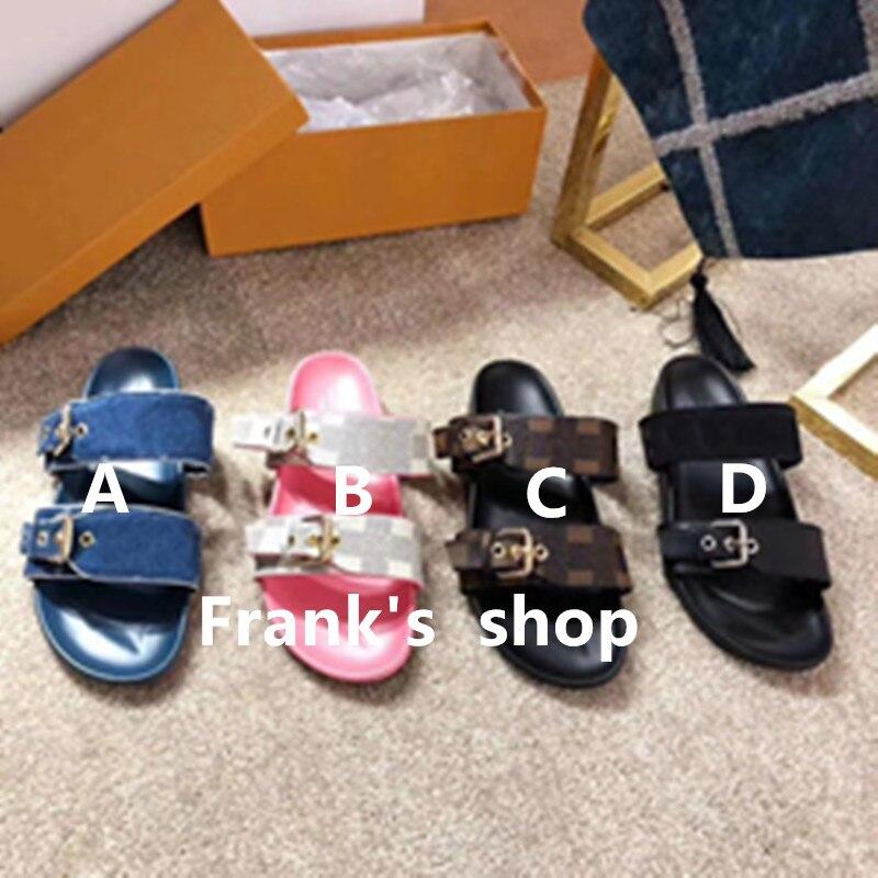 Nuevas zapatillas de lujo para mujer, Zapatillas para hombre, zapatos de plataforma de alta calidad, chanclas para mujer, pantuflas, zapatos para parejas