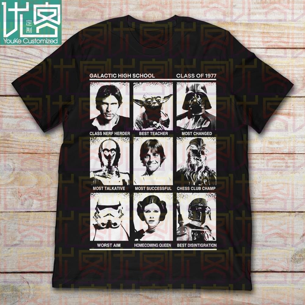Camiseta 2020 marca Star Wars Galactic High School Of 1977