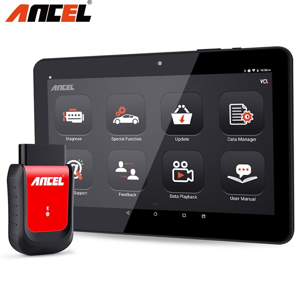 Ancel X6 OBD2 сканер полная система диагностический инструмент Bluetooth Wifi TPMS EPB IMMO Сброс OBD2 автомобильный диагностический инструмент