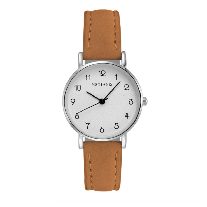 2021 New Watch Women Casual Fashion Leather Belt Watches Simple Ladies' Small Dial Quartz Clock Dres