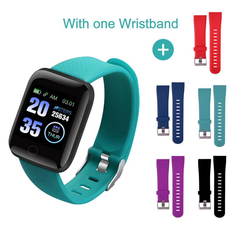 Original Silicone Wrist Strap For 116 Plus Adjustable Smart Watch Band For 116 Plus Smart Wearable Accessories