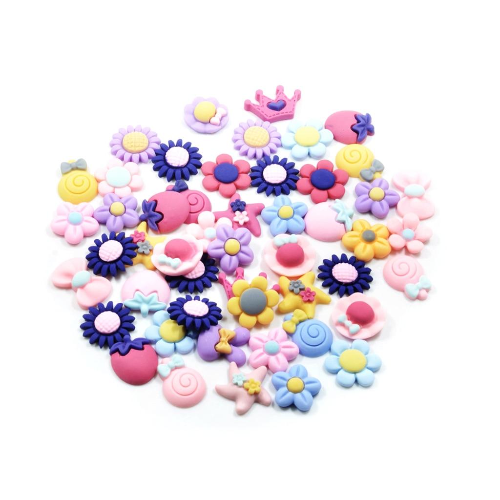 Фото - 50 шт. разнообразные милые резиновые кабошоны из смолы украшения для скрапбукинга 30 шт разнообразные кабошоны 10 11 мм