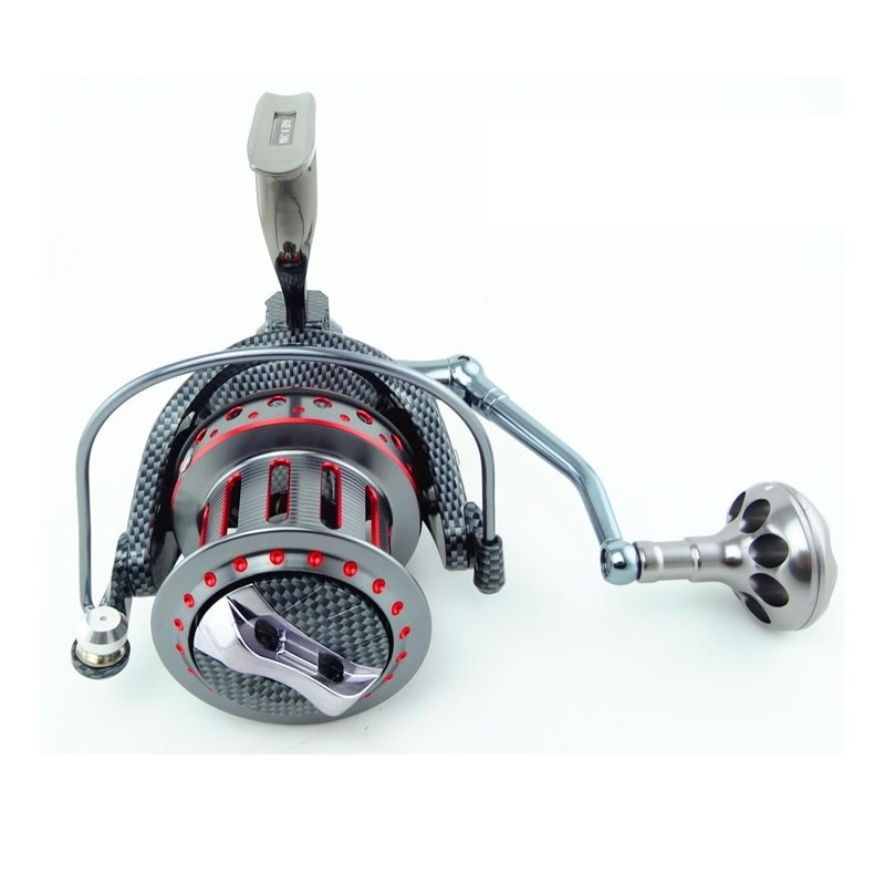 Albacore Full Metal Large Spinning Reel for  catching big fish in water such as ocean and river enlarge