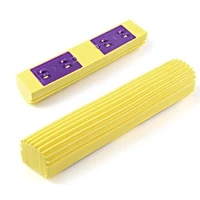 5 pieces new home cleaning pva sponge foam rubber mop head replacement home floor cleaning head garden cleaning supplies floor