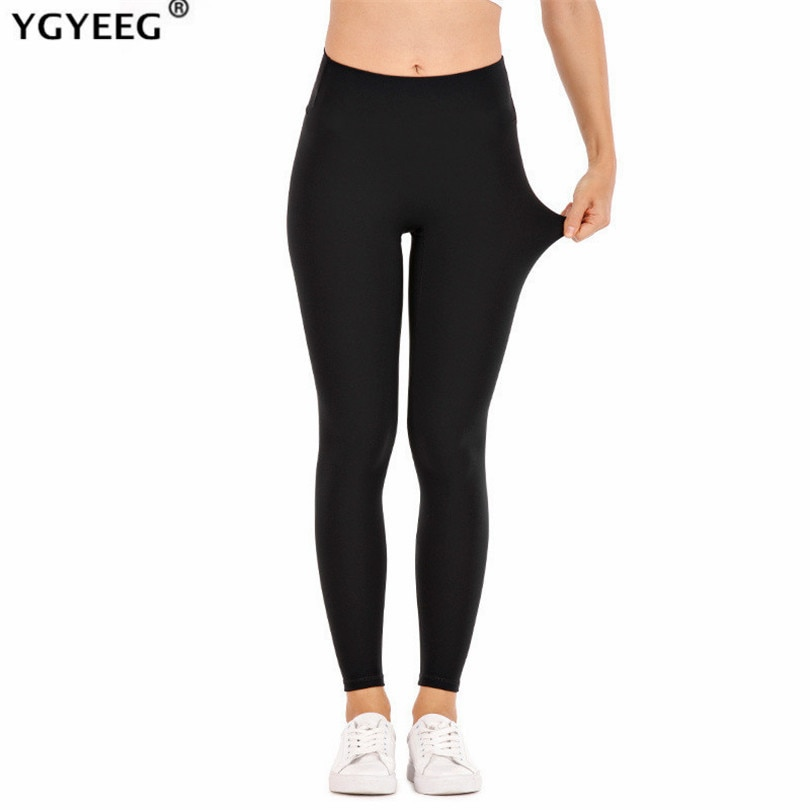YGYEEG Push Up Leggings Women's Legging Fitness Black Leggins Sexy High Waist Legins Workout Plus Size Leaf Pattern Jeggings
