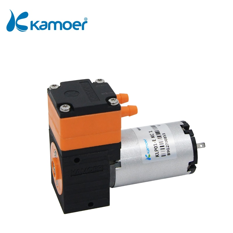 Kamoer-مضخة غشائية بفرشاة صغيرة KLP01 ، 12 فولت/24 فولت ، مع محرك فرشاة DC ورأس واحد