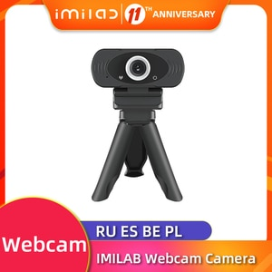 IMILAB Web Camera FULL HD 1080P Webcam Built-in mic Computer PC WebCameras Plug&Play for Broadcast Video Calling Conference Work