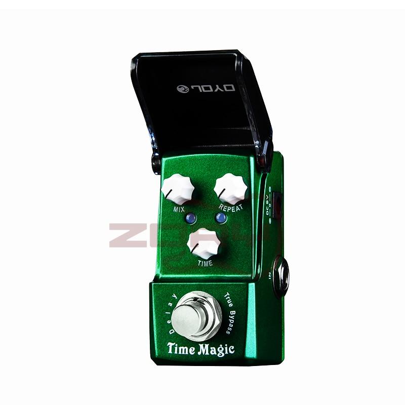JOYO JF-304 Time Magic Guitar Effect Pedal Analog Sounding Digital Delay True Bypass Effects Guitar Pedal Guitar Accessories