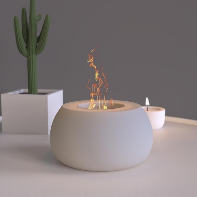 الخرسانة النار وعاء قالب من السيليكون لتقوم بها بنفسك الاسمنت كوب للشمع الهندسة تصميم مربع مربع مركب كأس الشمع النار الحاويات قوالب