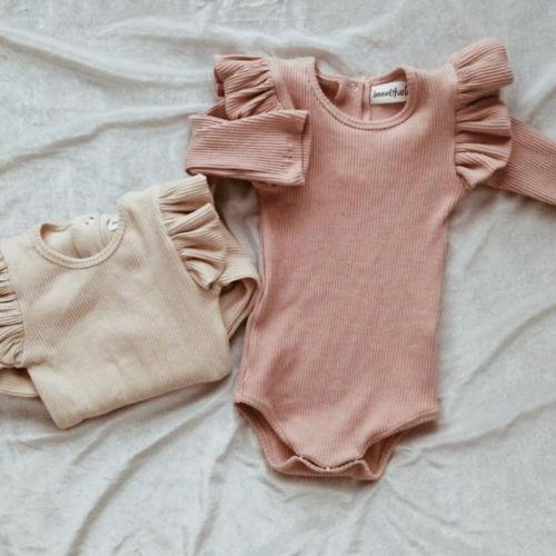 Vêtements princesse dautomne pour bébés filles   Combinaison manches longues, pour garçons et filles de 0-2 ans, tenue