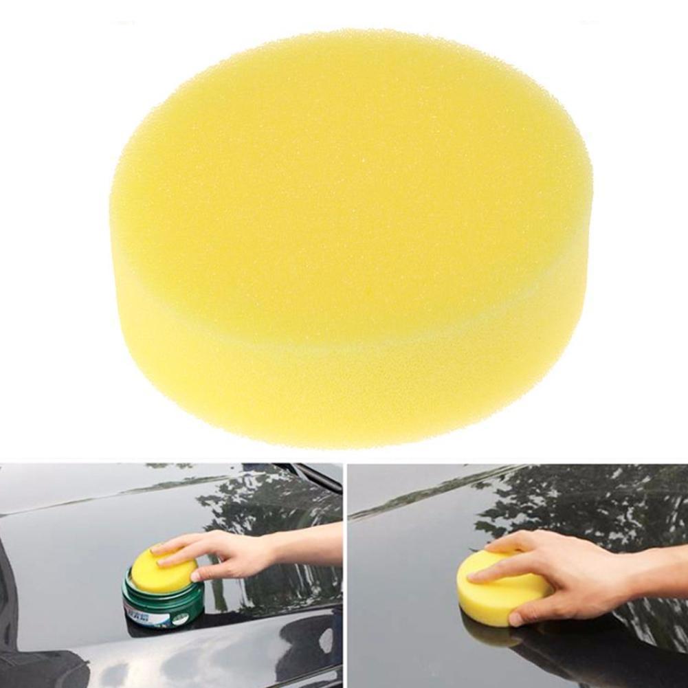 Новинка 2021, губка для полировки для ухода за автомобилем, инструменты для чистки, восковые прокладки, автомобильные губки, восковой аппликатор, губка для мытья автомобильного стекла I9L9