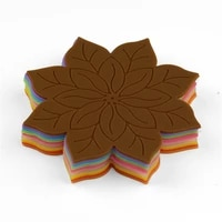 flower heat resistant silicone non slip kitchen placemat insulation coaster bowl cup pad pot holder table mat hom decor 51139