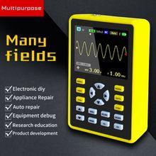 ADS5012H 2,4 pulgadas TFT pantalla portátil IPS LCD Mini osciloscopio Digital