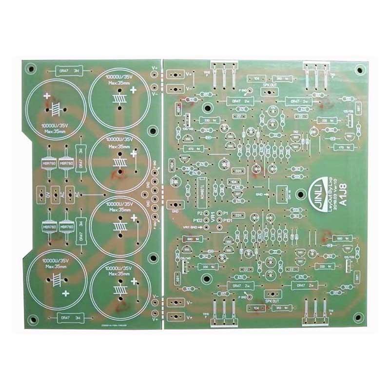 Zwei-kanal Power Verstärker Bord HIFI Stereo PCB Circuit Board Kit