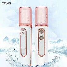 Tflag нано спрей с двойным отверстием для подачи воды, инструмент для зарядки Xiomi, портативный увлажнитель, инструмент для подачи воды с внешним аккумулятором