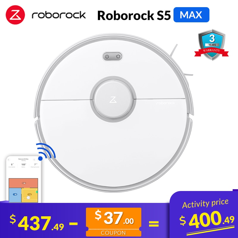 Roborock Robot Vacuum Cleaner S50 S55 2 Home Smart Cleaning Wet Mopping Carpet Dust Sweeping Robotic Wireless for Xiaomi APP