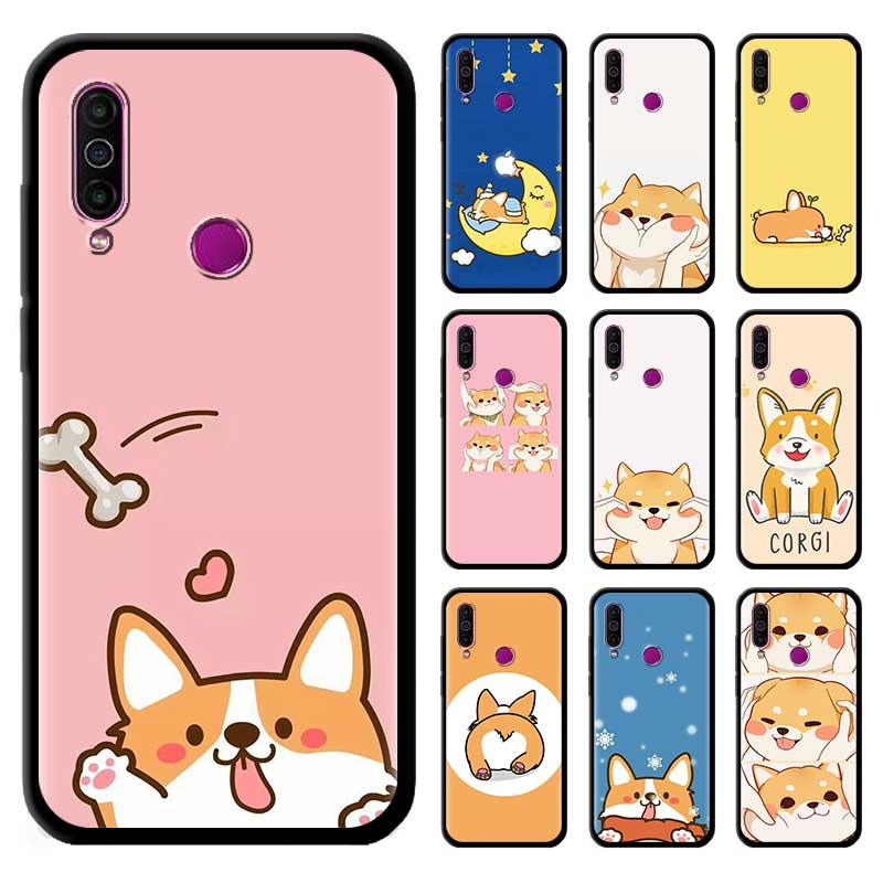 Negro Tpu Capa para Meizu M6 17 Pro 16 16th 16s 16T 16Xs Casess Fundas de silicona carcasa móvil Animal gato perro