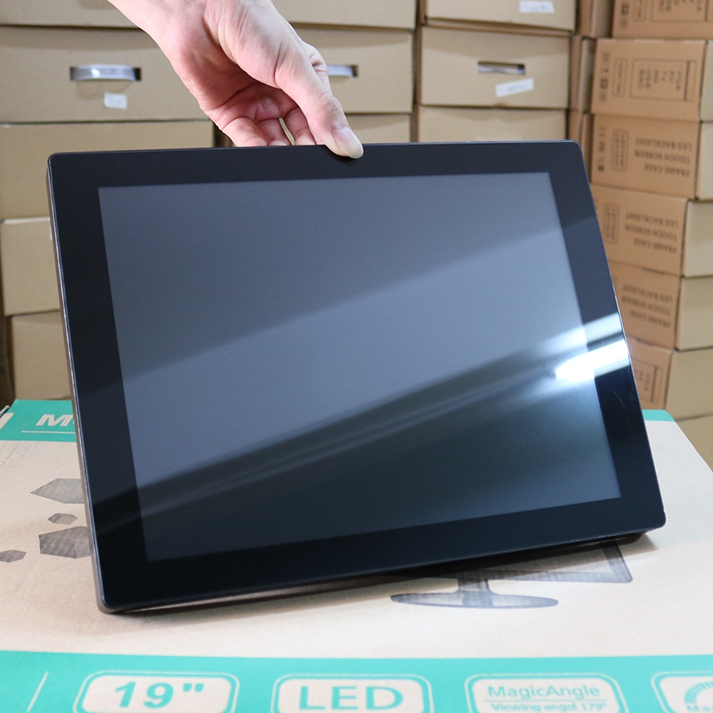 10 12 15 17 19 Inch Industrial Tablet PC Capacitive Touch Screen Core Celeron J1900 4G RAM 32G/64G SSD Wifi Com AIO Computer
