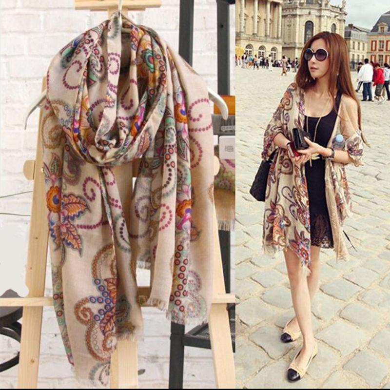 Women Scarf Black Friday Deals Lady Pashmina Soft Warm Hood Cowl Warm Winter Large Shawl Chic Vintage Fashion Wraps