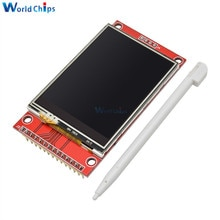 "240x320 2,4 ""SPI TFT LCD Touch Panel Serial Port Modul Mit PBC ILI9341 3,3 V 2,4 Zoll SPI Serielle Weiß Led-anzeige"