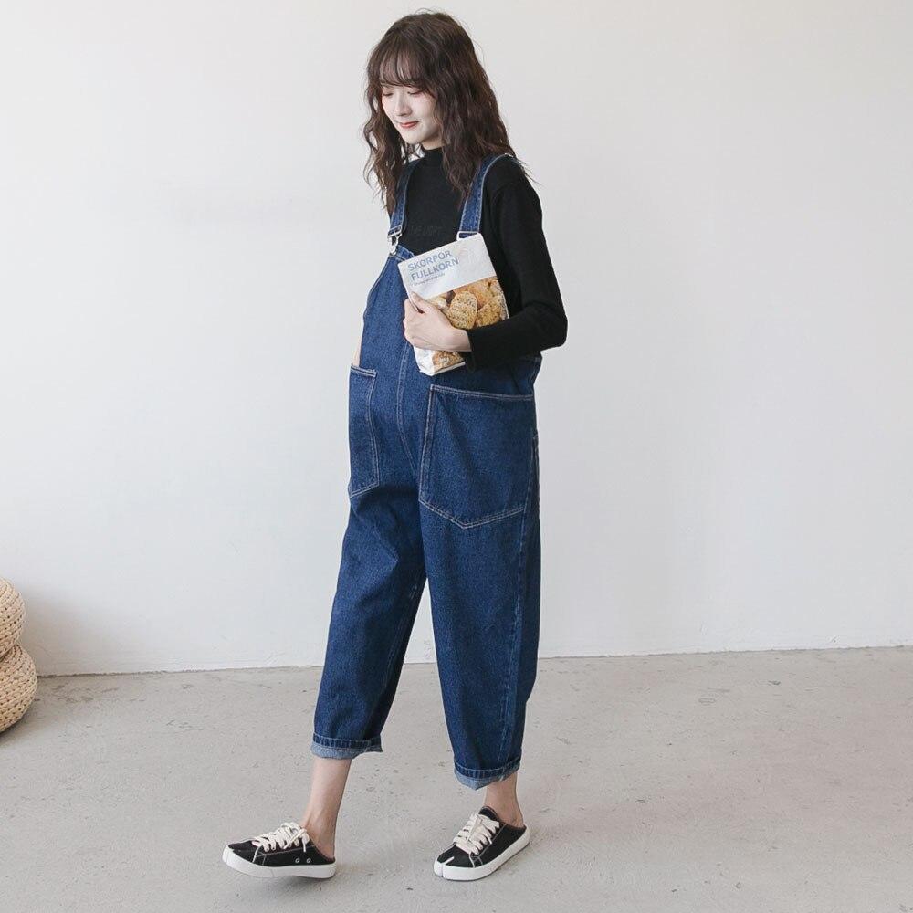 Maternity Jeans Pregnancy Pants Overalls for Pregnant Mommy Maternity Bib Pants Antumm Clothes Maternity Denim Jumpsuit