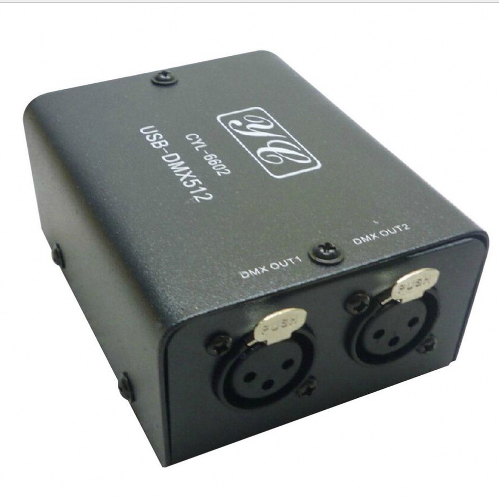 DMX512 iluminación de escenario C LED luz DMX-controlador de iluminación de escenario 512 canales USB a DMX controlador de iluminación de escenario profesional